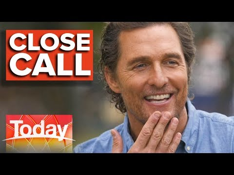 DK - WATCH: Matthew McConaughey Had a Near-Death Experience With a Snake