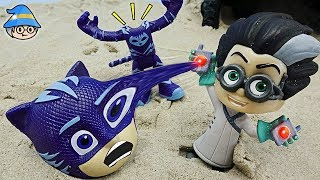PJ Masks changed body and face. Fall into the magic trap of Romeo.