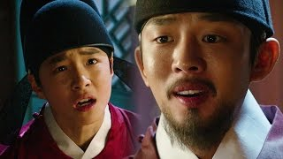 Yoo Ah In, recalls Jeong Do Jeon & Boon Yi from his son 《Six Flying Dragons》 육룡이 나르샤 EP50