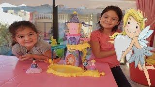 Diş Perisinden Masal'a Büyük Sürpriz! Disney Princess Magical Movers Toys Rapunzel & Mulan