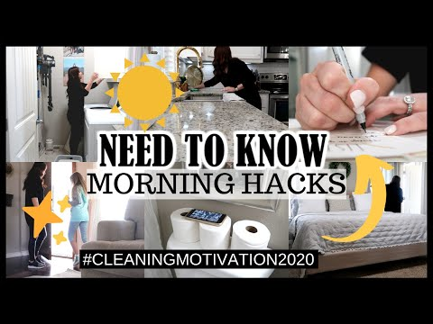 need-to-know-morning-hacks-|-morning-cleaning-routine-|-tips-for-being-productive