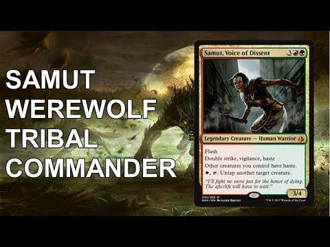 Commander Deck Tech: Samut Werewolf Tribal(Patreon Request)