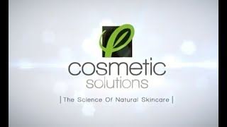 Get to Know Cosmetic Solutions - Private Label Skin Care Manufacturer