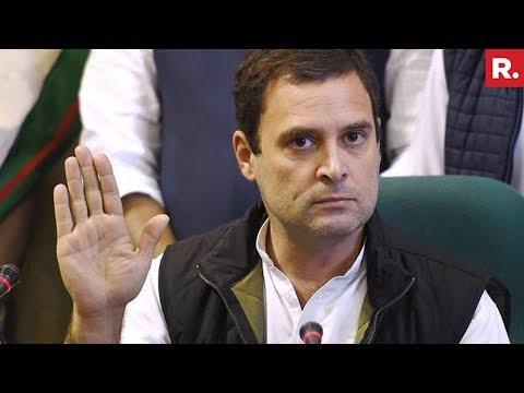 Rahul Gandhi endorses Tewari's tweets