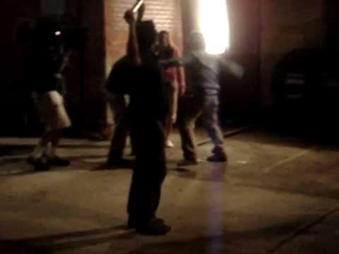 Ten Inch Hero - Behind the Scenes - Tadd Gets a Beatdown