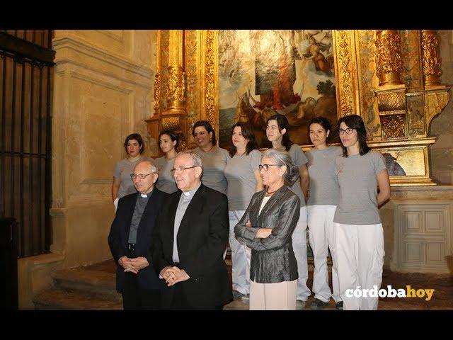 El Cabildo terminala restauración del retablo de la capilla de San Mateo