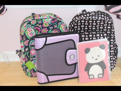 What's In My Backpack 2014    9th Grade