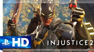 Injustice 2 (2017) Gear System Gameplay Trailer - PS4