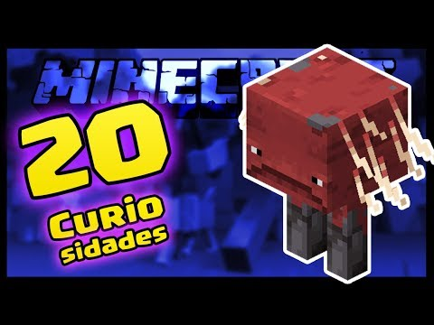 20 CURIOSIDADES SOBRE O STRIDER DO MINECRAFT