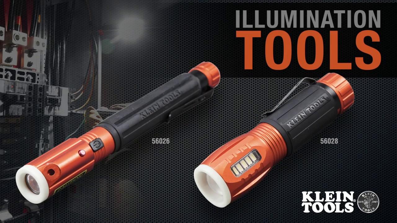 Klein illumination tools 56026 & 56028