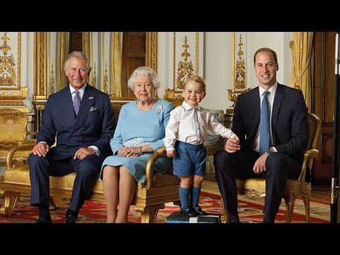 Prince George Is Beyond Adorable in New Royal Family Portrait