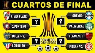 Predicción Cuartos de Final Copa Libertadores 2019