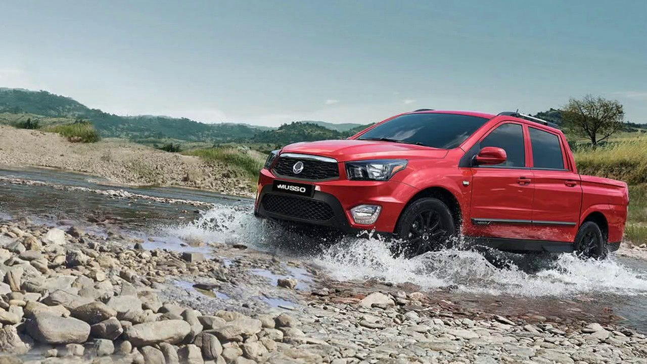 Ssangyong musso ex auto review youtube