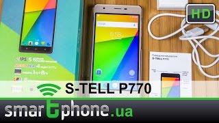 S-TELL P770 - обзор смартфона