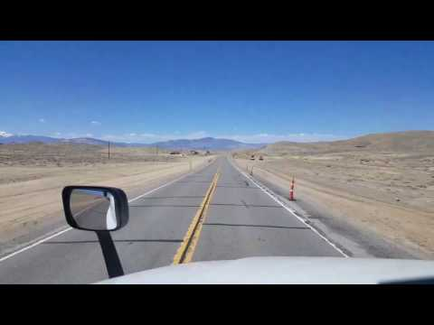 BigRigTravels - US 95 North in Nevada - non broadcast segments Part Two
