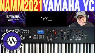 NAMM 2021 - Yamaha YC 73 and YC 88 Stage Keyboards