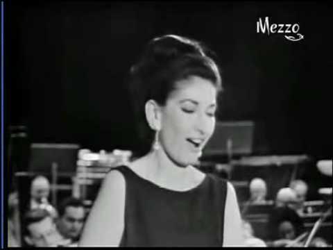 """Maria Callas, """"O mio babbino caro"""" (Puccini)"""