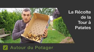 Repeat youtube video La récolte de la tour à pomme de terres