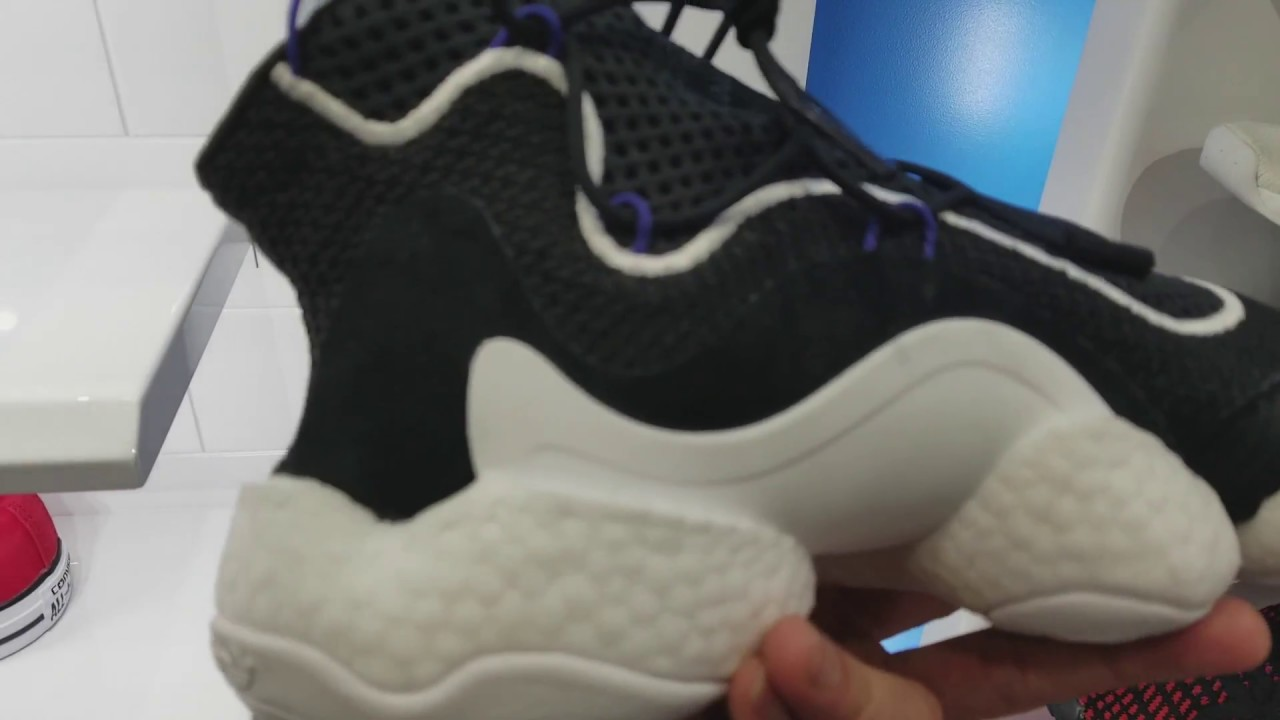 Almost Cop Latest Adidas CRAZY BYW BOOST SAMPLE Shoes Kicks Sneakers! 2 5  2018 a86fe1327