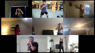 Boxing training on Zoom 3