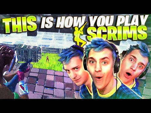 THIS IS HOW YOU PLAY SCRIMS! W/ Faze Funk, Nate Hill & Reverse2k