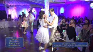 Quinceañera Surprise Dance in San Bernardino