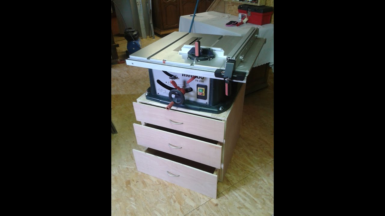 How To Build A Table Saw Stand Tisch F R Tischkre Doovi