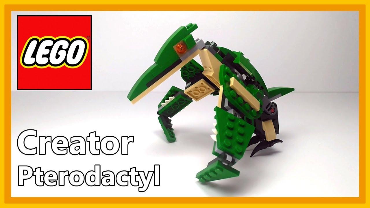 Lego Creator 31058 Mighty Dinosaurs Pterodactyl Youtube