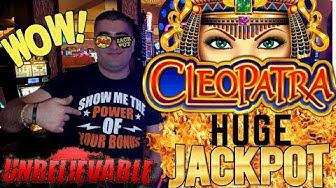 High Limit CLEOPATRA 2 Slot Machine HUGE HANDPAY JACKPOT   Season 9   Episode #11