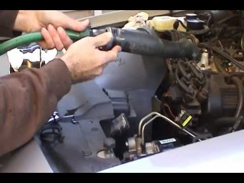 1995 Ford Crown Victoria Cooling System Flush Youtube