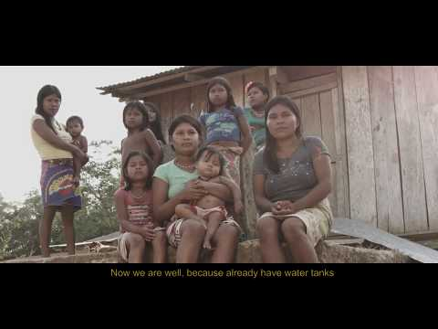 Improving the lives of western Colombia's indigenous Emberra communities