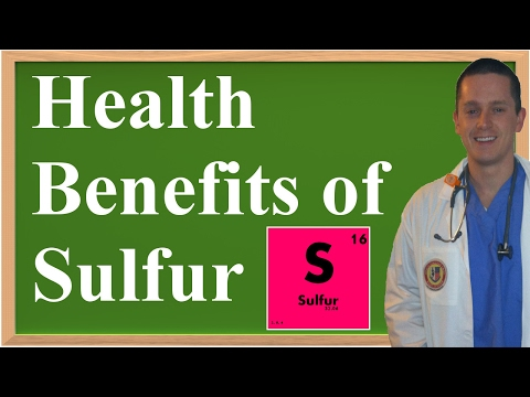 The Health Benefits of Sulfur