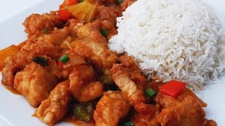 Sweet & Sour Chicken Recipe - Treat Factory