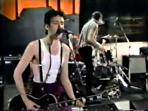 the CLASH  'Clampdown'  (live on Fridays 1980)