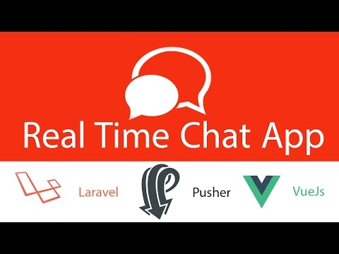 lesson 15 real time chat app laravel vuejs pusher sweet