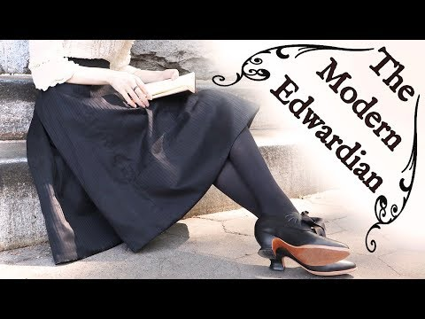 Making A (Modern!) Edwardian Walking Skirt || Historical Style
