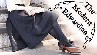Making A (Modern!) Edwardian Walking Skirt || Historical Style
