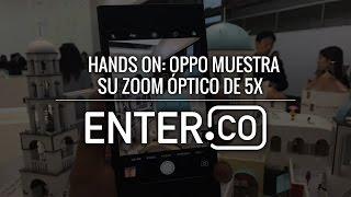 5X de zoom óptico tiene este celular de Oppo - Hands On En Español