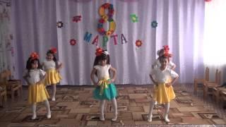 Танец девочек (детский сад 04.03.16)