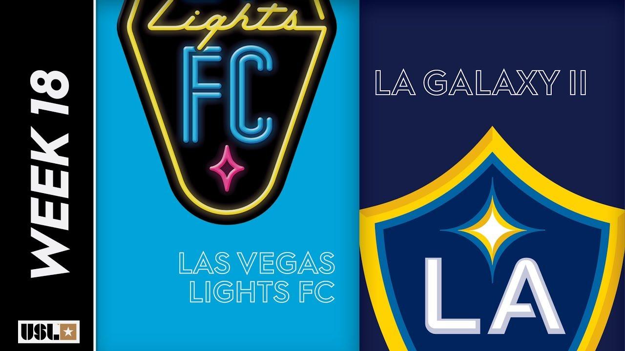 Las Vegas Lights FC vs  LA Galaxy II: July 4th, 2019