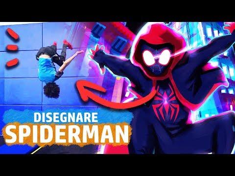 Disegnare Spider Man Facendo Le Acrobazie Spiderman Un Nuovo