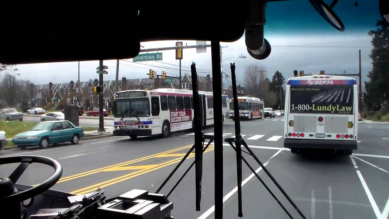 Septa Bus Ride On Route 50 Youtube