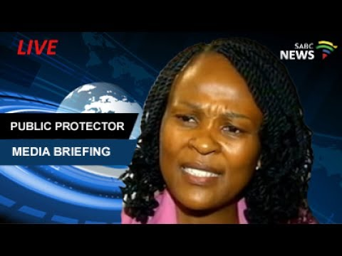 Public Protector briefs the media - releases four reports