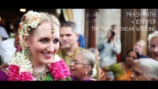 Love Beyond Borders:{Prashanth+Jennifer} The Tamil Iyengar Wedding