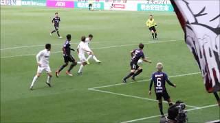 4月8日 神戸 VS G大阪 大槻選手AT弾