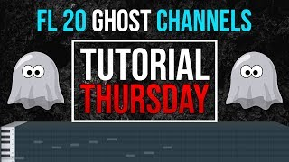 FL Studio 20 Ghost Channels - Ghost Notes In Piano Roll - Tutorial Thursday EP5