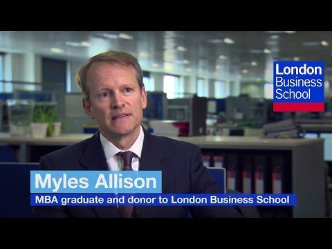 London Business School Scholarship Stories: Myles Allison MBA97