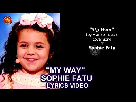 "Sophie Fatu ""My Way"" LYRICS VIDEO (Cover Song) Audition America's Got Talent 2018"