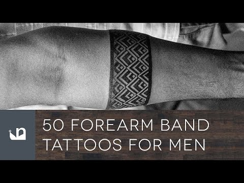 50 Forearm Band Tattoos For Men