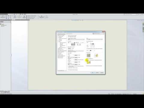 Solidworks. Урок 5.4. Настройка под ГОСТ ЕСКД - создание чертежа